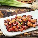 【食谱】香辣下饭的传统江湖风味菜——辣子鸡丁