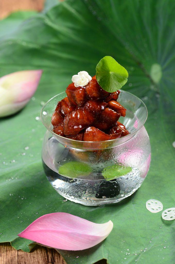 茉莉花熏鲈鱼