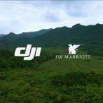 JW万豪酒店及度假酒店牵手大疆合作推出航拍体验项目