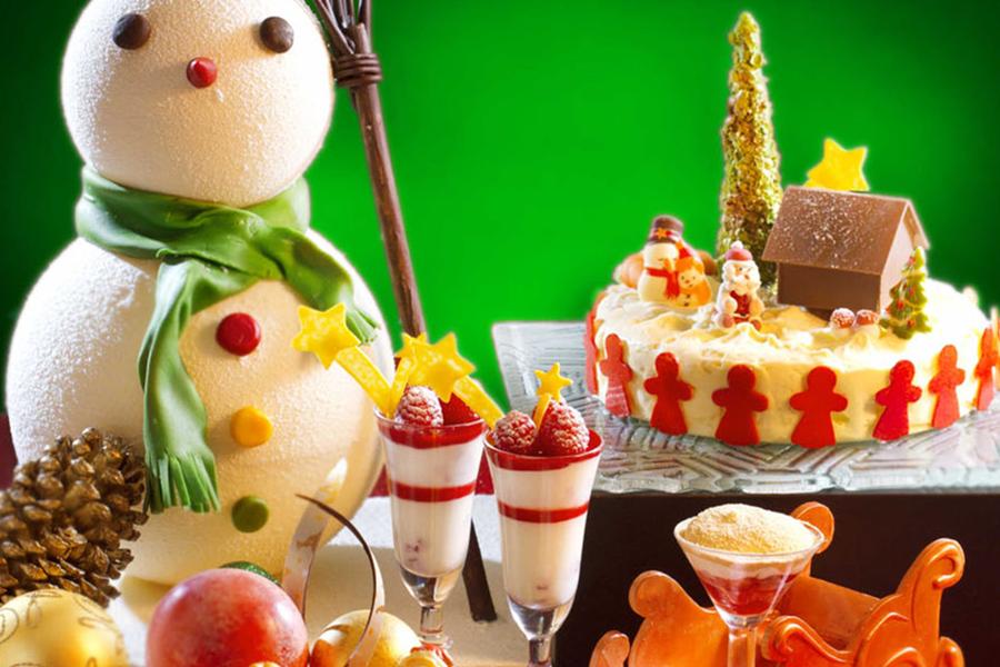 Caf Allegro_Christmas Dessert Setup_副本