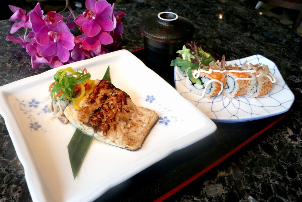 味噌豉汁海鲈鱼
