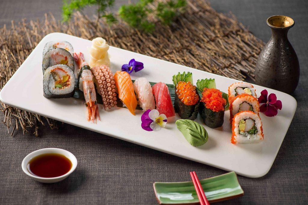精选日式寿司拼盘
