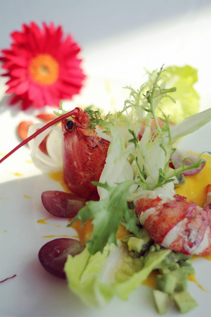 Spring lobster salad法式龙虾色拉