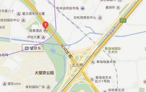 昆泰酒店位置图