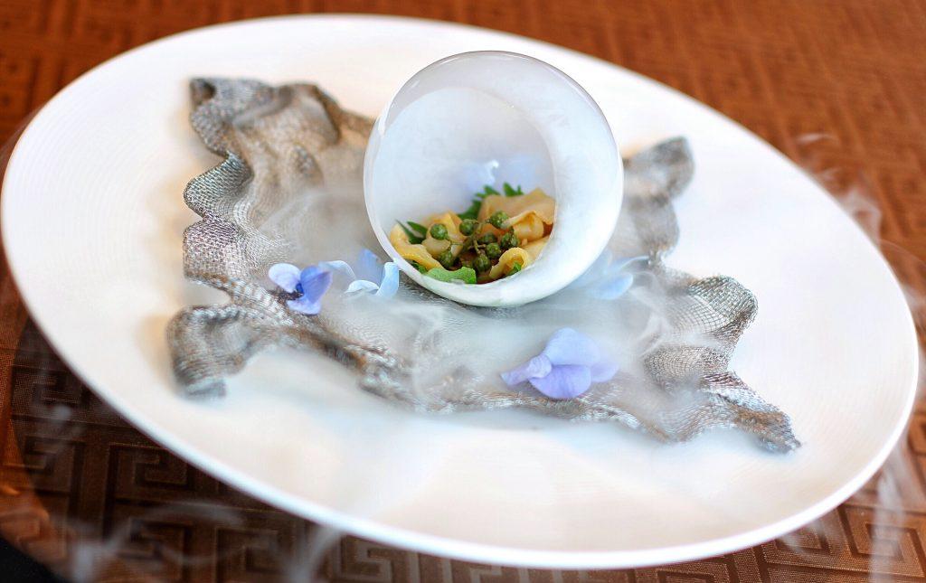 鲜花椒炝海螺