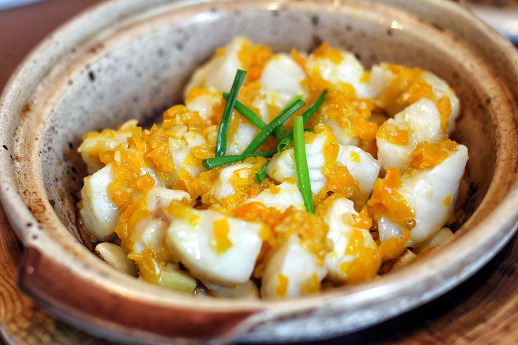 黄彩椒焗银鳕鱼