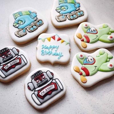 创意饼干画