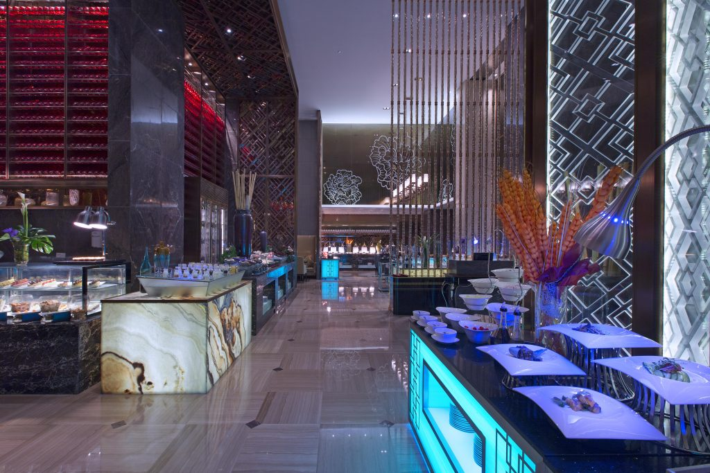 长沙万达文华酒店美食汇全日餐厅2
