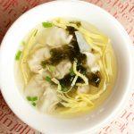 上海|我就喜欢中午去华亭宾馆吃一碗蟹粉小馄饨